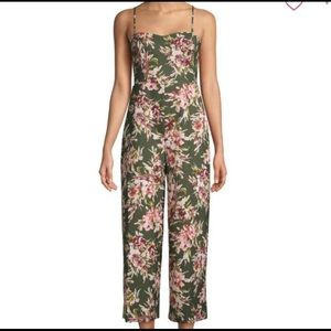 French connection floral jumpsuit size 6
